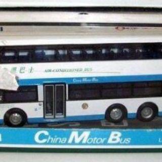 CORGI 1/76 - 43206 11 METRE 3 AXLE OLYMPIAN DOUBLE DECKER - CHINA MOTOR BUS