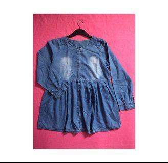 #BAPAU Denim Blouse Oversized