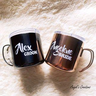 Personalized/Customized Stainless Steel Mug with Handle