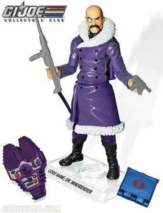 GI Joe Collector's Club 2015 Dr. Mindbender