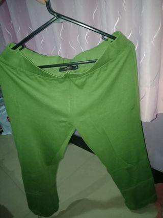 #BAPAU Celana hijau kain