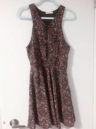 Zip-up summer dress
