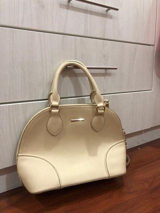 Vincci Beige Handbag