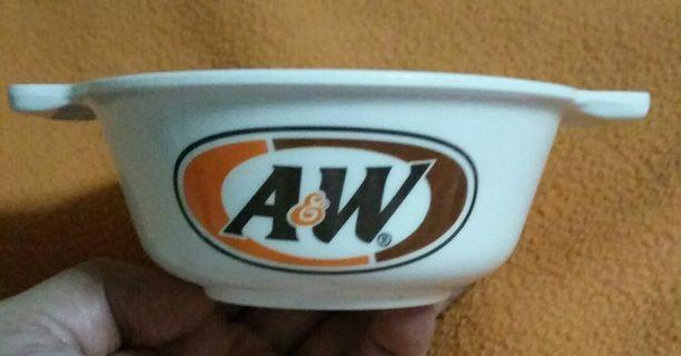 Iconic A & W Collectible Bowl