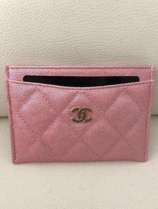 Chanel Pink Iridescent Caviar 19S 🦄 🦄🦄