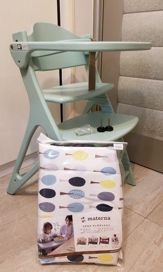 Tavolo Affel Table & Guard High chair