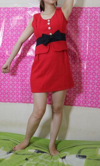 Red dress cute