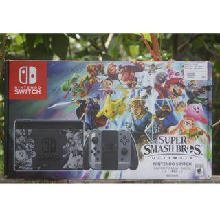 nintendo switch s.s special edition