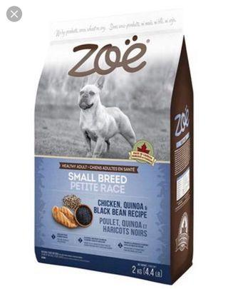 Zoe Chicken, Quinoa and Black Bean Dog Dry Food (2kg)