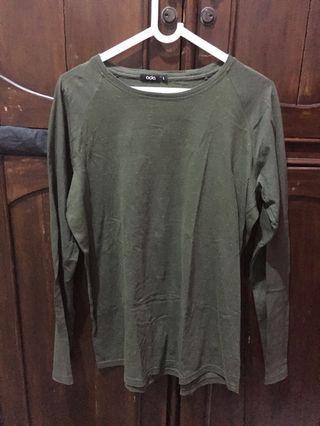 Long shirt ukuran L