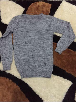#BAPAU Grey Sweater