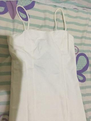 Dress Bodycon White