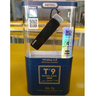 Brand new Remax RB-T9 (ORIGINAL!) wireless Bluetooth mono headset for sale