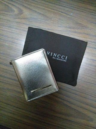 Vincci Card Holder (Gold)