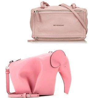 $9500 for two bags! Loewe + Givenchy