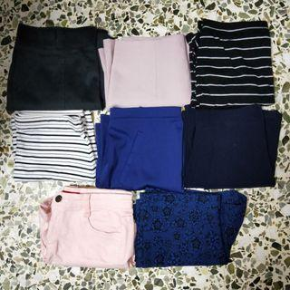$2-$5 skirts and shorts clearance