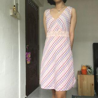 Retro pastel dress