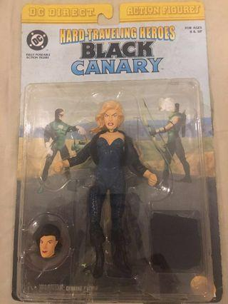 DC Direct Black Canary Hard Traveling Heroes MOC Action Figure