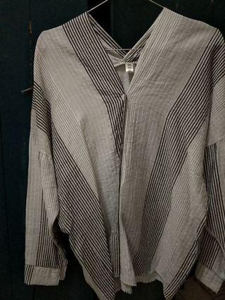 Casual stripe top