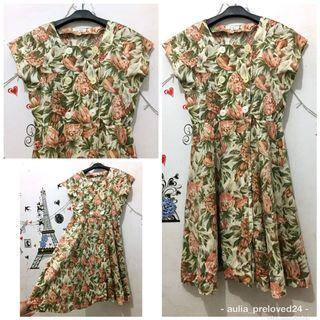 Flower Dress import cantik