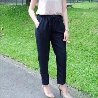 Celana katun Baggy / BASIC Cotton Pants