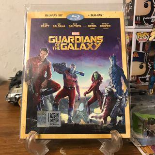 Guardian Of The Galaxy 2d+3d Original Bluray