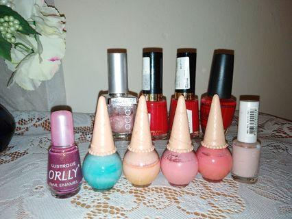 Nail Polish - mix brand (Rm5 - 9each)