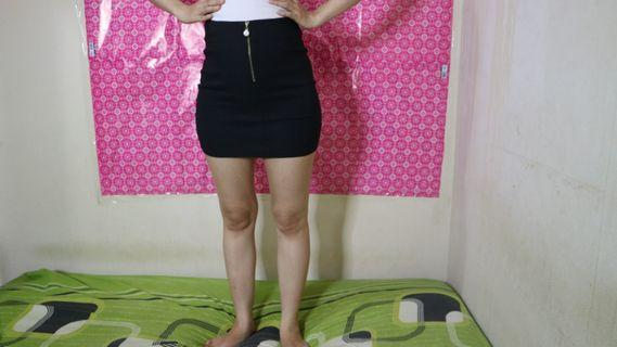 Mini Skirts bodycon black