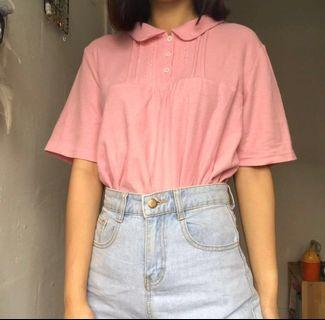 Vintage Pink polo