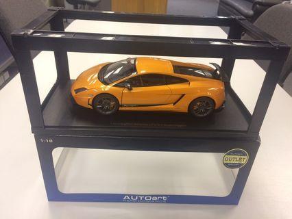 Autoart 1:18 Lamborghini Gallardo LP-570-4 Superleggera (orange)