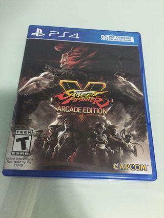 Street fighter V Arcade edition 街頭霸王 春麗 軍佬 豪鬼