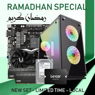 [RAMADHAN SPECIAL] RYZEN 5 2600 + RTX 2070 8GB GAMING PC DESKTOP!!