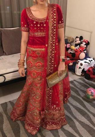 Lehenga from City One KL Boutique
