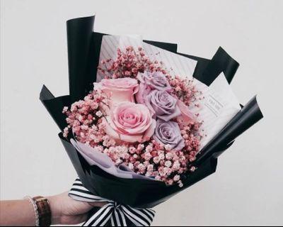 🚚 Fresh Flower Bouquet