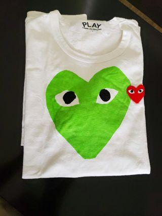 Authentic Comme des Garcons Play Tee