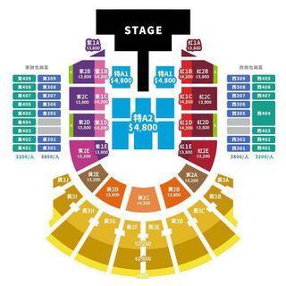 3200包廂區/李玟CoCo《You&I》世界巡迴演唱會門票多張 台北內湖可面交