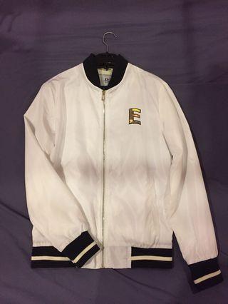 White Swag Jacket