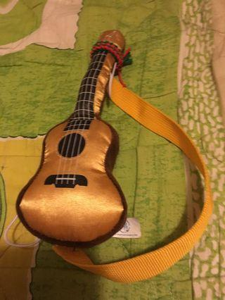 Guitar soft toy