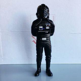 Vintage 1997 Star Wars Tie Fighter Pilot 10 inch Figure Applause Toys