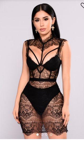 Fashion nova without a trace dress