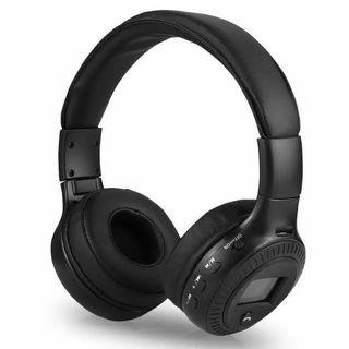 R[HG28] B19 Wireless Bluetooth Headset Support TF Card FM Radio Function LCD Screen 40 mm Speaker Driver Musical Earphone