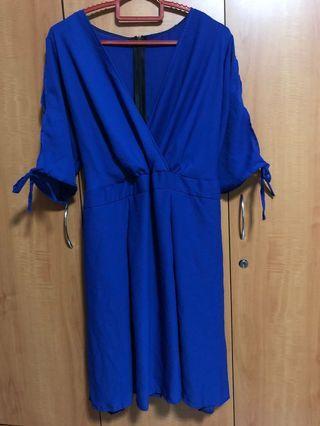 Kimono Blue Dress