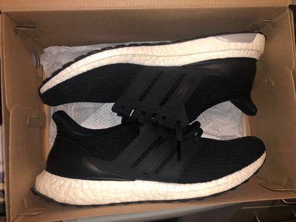 Adidas mens Ultra boost black 10.5