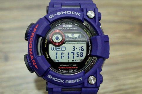 100% Authentic new Casio G-Shock Men In Navy GF-1000NV-2 Watch Full Set Made in Japan limited edition