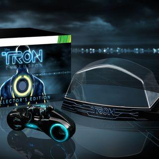 TRON: Evolution collector light cycle collectible