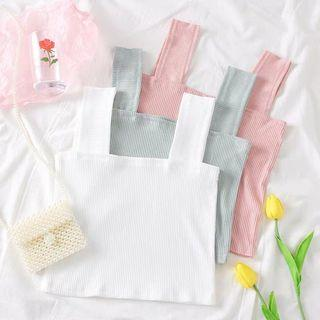 Square Knitted Basic Top