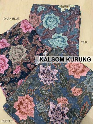 Kalsom Batik Mini Kurung