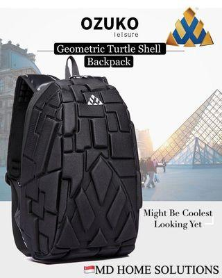 Geometric Turtle Shell - Backpack Large Capacity Travel Backpack
