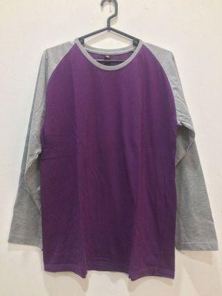 Purple longsleeves unisex