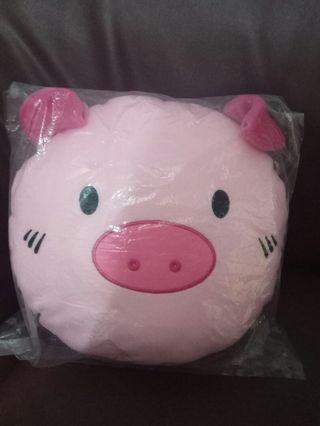 Boneka Pig Bantal Kepala lucu